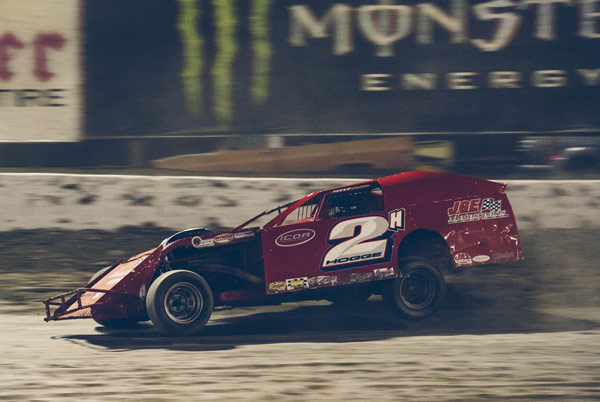 Here He Is Leading The 2014 Budweiser Nationals Modifieds At Bakersfield,  CA High, Wide, And Handsome. The Salinas Based Racer Won All Four Late ...